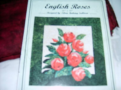 English Roses Foundation Piecer Quilt Kit - includes pattern and fabric