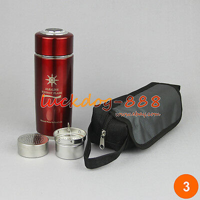 NEW Energy Flask Water Alkaline Quantum Ionizer Nano Cup - Mineralizer 2 Filters