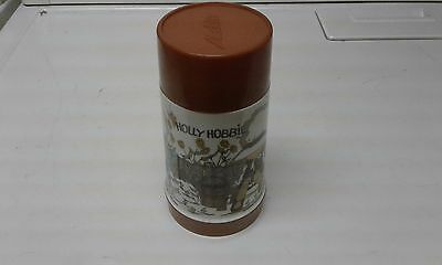 Holly Hobbie 1970's Brown thermos Aladdin Industries