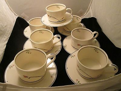 79 Gorham Ariana coffee cups and saucers--Town & Country Fine China