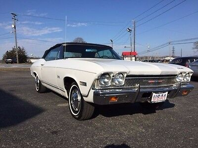 1968 Chevrolet Chevelle  1968 Chevelle Malibu convertible survivor 2 owner with documentation not a SS