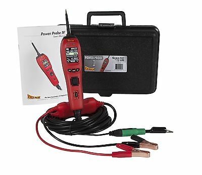 Power Probe PP401AS PP4 IV 9 Mode Diagonstic Circuit Tester Tool Electronic NEW