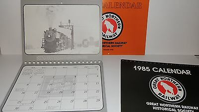 1983-1985 - TRAIN Calenders - Great Northern Railway Historical Society