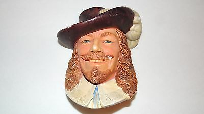 Cavalier - Legend Products - Chalkware - England  Signed F. Wright- Collectible