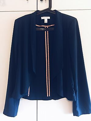 Forever New Navy Blue Cardigan Size S