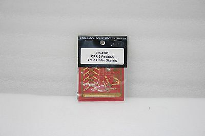 Athabasca Scale Models Ltd. #4201 Ho Brass Cpr 2 Position Train Order Signals