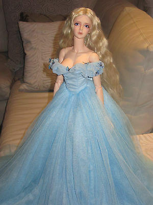 BJD 1/3 OOAK Cinderella Dress Lily James SOOM Super Gem SD16 Souldoll Zenith