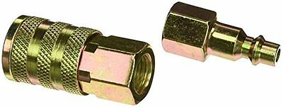 BOSTITCH IHKIT-14F Industrial 1/4-Inch Series Hose Coupler Kit with 1/4-Inch NPT