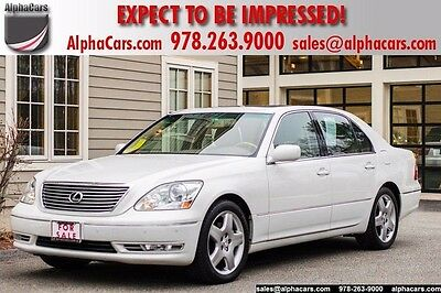 2006 Lexus LS 430 One Owner No Accidents Original Paint  Financing & Trades