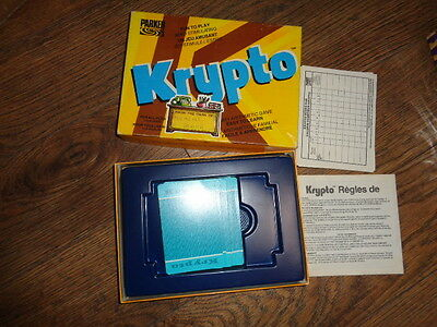 Krypto Familty Arithmetic Game -Complete- Parker Bros.