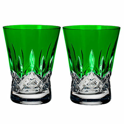 waterford wedgwood glasses Lismore Emerald