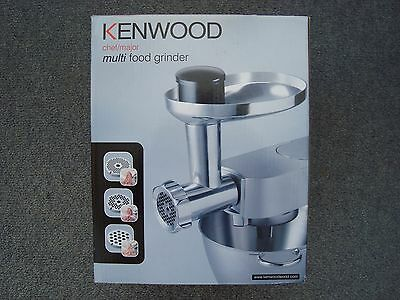 Genuine Kenwood Mincer Grinder AT950A Accessory for Chef/Major Mixer -NEW IN BOX