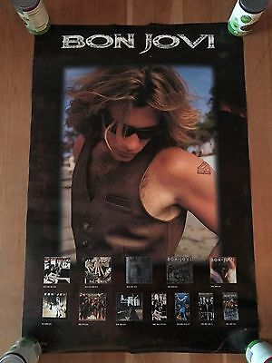 RARE OrigiNAL Bon JOVI THese DAYS Double Sided PROMo Only POSter!!