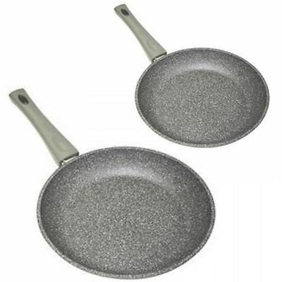 Stonewell Premium Series Granite Effect Non Stick Induction Frying Pan Cooking