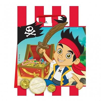 Jake and the neverland Pirates Party Bags - 30 Pieces - Disney Party Tableware