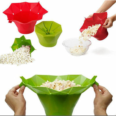 Hot Microwave Silicone Magic Household Popcorn Maker Container Home Cooking Tool