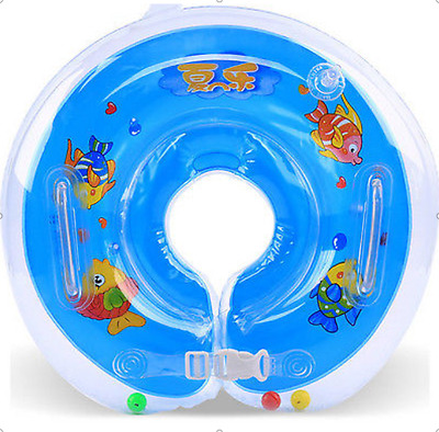 Baby Aids Infant Swimming Poor Neck Float Inflatable Tube Safety Neck Ring