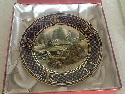 Spode Operation Overlord D Day Commemorative Plate - Airborne Forces