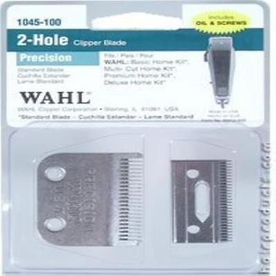 Wahl Professional 2 Hole Precision Clipper Blade (Model:1045-1 New UK SELLER