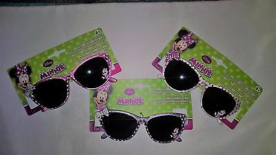 Disney MINNIE CHILDRENS SUNGLASSES 100% UVA & UVB PROTECTION SHATTER RESISTANT