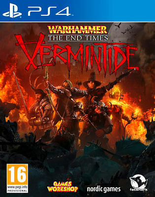 Warhammer End Times Vermintide PS4 Playstation 4 Game Brand New In Stock