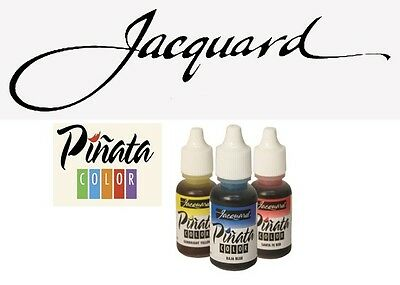Jacquard Pinata  Alcohol Ink 14ml (17 Colours Available, Cleanup, Claro)