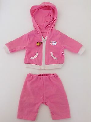 Zapf Creation Baby Born Tracksuit (Pink)- Good Preloved Condition!