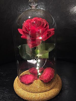 Beauty And The Beast Inspired Enchanted Rose Light WEDDING MOTHER'S DAY