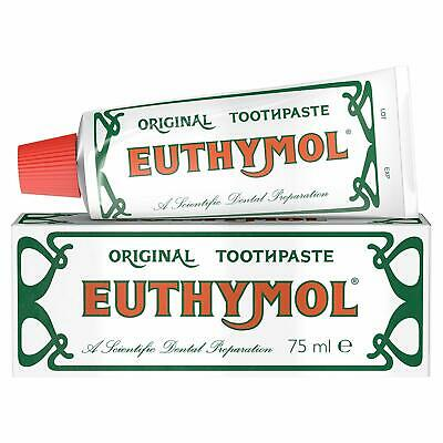Euthymol Original Toothpaste Tube 75ml In Multi Pack