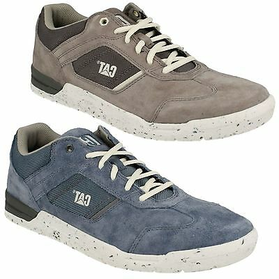 Mens Caterpillar Lace Up Suede Leather Trainers Shoes Chasm P719530 eb5493f62