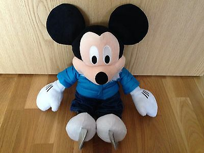 Disney Store 2011 Mickey Mouse Ice Skating Soft Toy