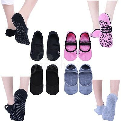 1Pair Women's Non-Slip Ballet Dance Sock Girls Grip Socks for Barre Yoga Pilates