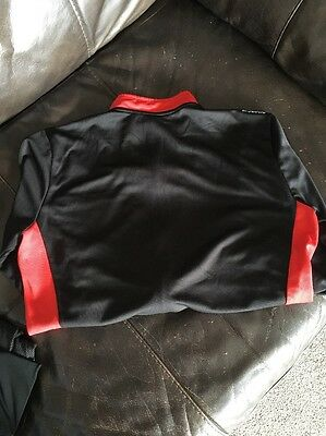 Btwin Black And Red Long Sleeved Cycling Top Size L