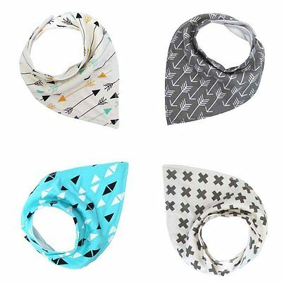 Baby Drool Bibs For Boys & Girls, Pure & Absorbent & Organic Cotton Burp clothes