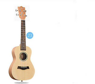 23 inches Wood Color 4 String Profession Musical Instrument Ukulele #