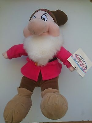 Disney Store's Exclusive 13 Inch Grumpy Dwarf Soft Toy - New With Tag