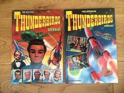 2 Thunderbirds annuals 1992 and 1993.