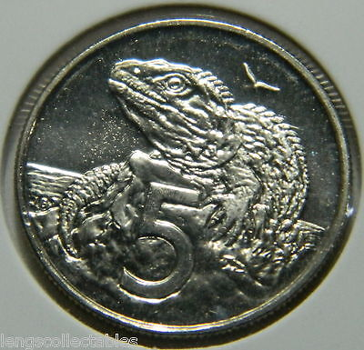 2004 New Zealand 5 Cent Coin