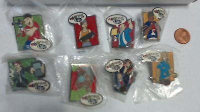 eBay Character Hero Chicago 08 Live Collector Lapel Hat Pins Set of 8