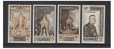 Laos - SG 109/12 - u/m - 1961 Funeral of King Vong