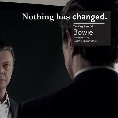 DAVID BOWIE-CD-Nothing Has Changed(2014)-Let's Dance, Under Pressure-New Sealed