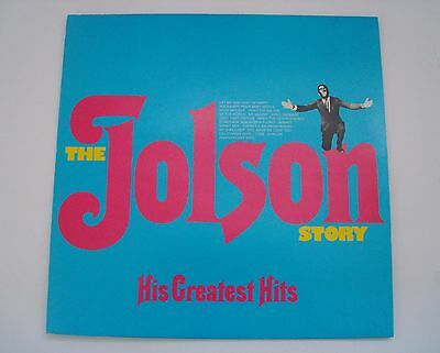 The Jolson Story His Greatest Hits Mono Vinyl LP Album Record VG/Mint Condition