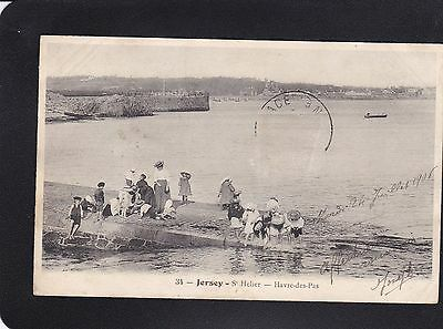 Postcard - Jersey - Havre -des-Pas - 34 - Posted 1906 - Some Creasing. No Stamp.