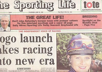 The Sporting Life Newspaper - Thursday June 23, 1994