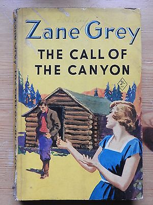 Zane Grey - The Call of the Canyon (1953) PB vintage Yellow Jacket western