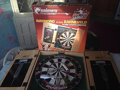 unicorn home darts centre raymond van brneveld brand new in box