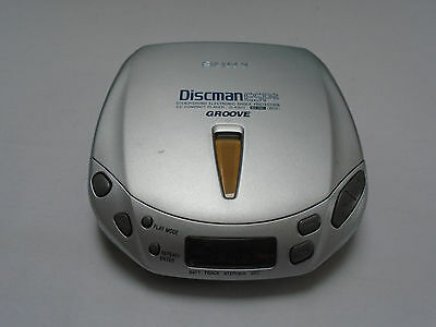Sony CD Discman D-E401 ESP2 Groove Personal Portable Good Condition Working