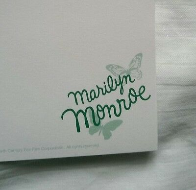 Marilyn Monroe Writing Paper Sheets & Envelopes Set, Movie Film Stationary