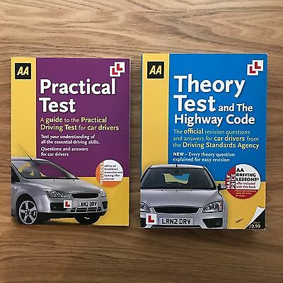AA Highway Code Theory And Practical Test Books RRP £16