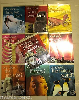 BULK LOT ~ 10 x WHAT ABOUT...  Miles Kelly Series ~ LIKE NEW SC 2007